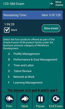CB 1Z0-584 Oracle Exam screenshot 8