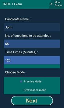 CB 3200-1 Avaya Exam apk screenshot
