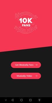 1 Schermata Get fans for TIKTOK Musically - like & Followers