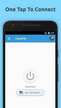 Free VPN Unlimited Proxy By FishVPN poster
