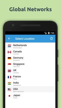 Free VPN Unlimited Proxy By FishVPN screenshot 1