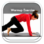 Warm Up Exercise Guide icon