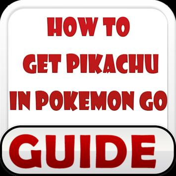 How to Get Pikachu in POKEMON poster