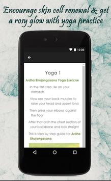 Yoga Exercise For Glowing Skin screenshot 2