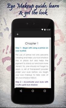 Eye Makeup Tips screenshot 2