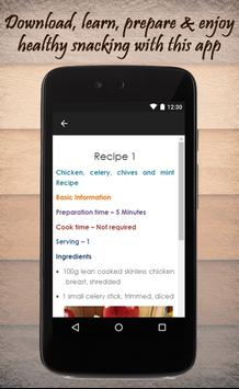 Healthy Snack Recipes Guide screenshot 2