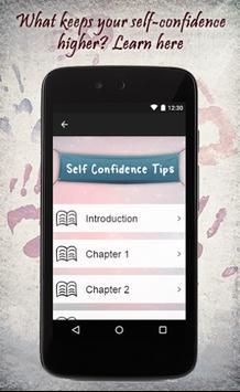 Self Confidence Tips screenshot 1