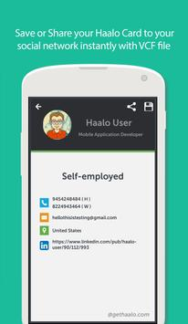Haalo business cards apk download free business app for android haalo business cards apk screenshot colourmoves
