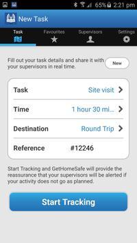 GetHomeSafe - Corporate Safety apk screenshot