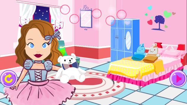 Princess Sofia room makeover poster