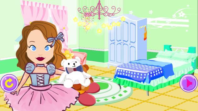 Princess Sofia room makeover screenshot 2