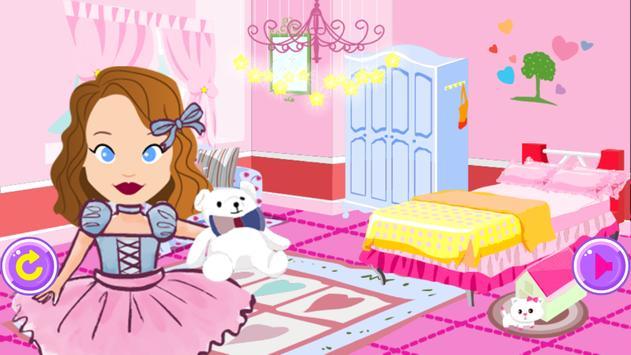 Princess Sofia room makeover screenshot 3