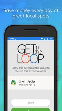 Get in the Loop - Local Deals on almost anything. apk screenshot