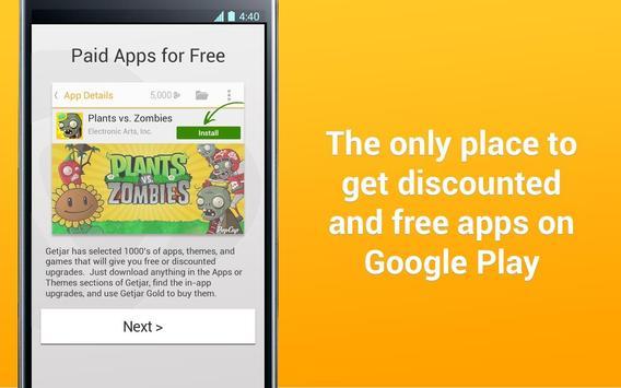 Getjar : Paid Apps for Free apk screenshot