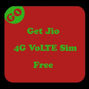Get 4G VoLTE Sim india poster