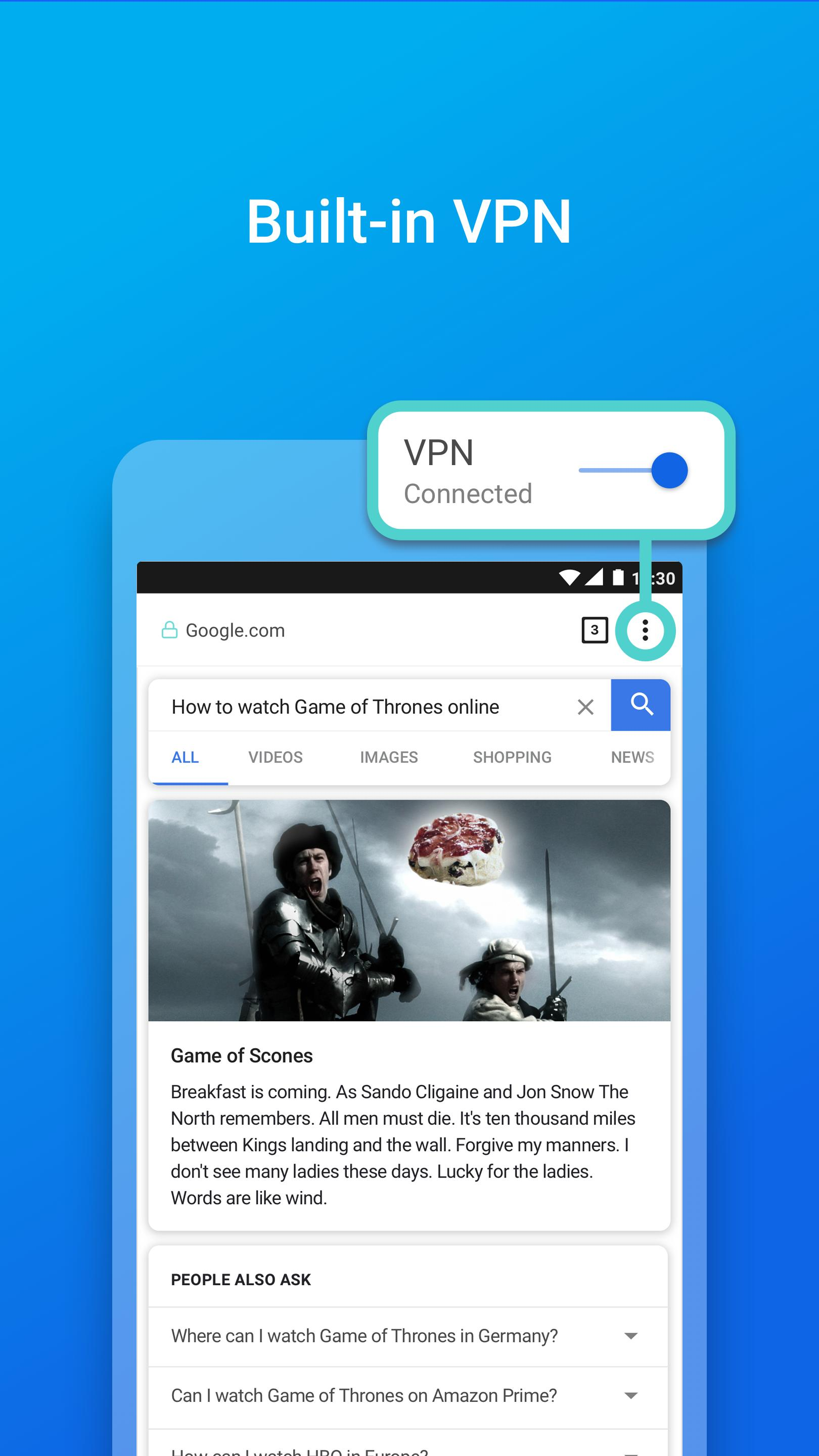 Keepsafe Browser: Stay Private with a VPN & Vault for