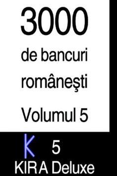 BANCURI (3000)  - volumul 5 poster