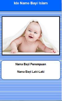 ide nama islam poster