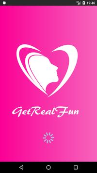 GetRealFun - Connecting to Real People poster