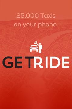 GetRide Driver Taxi and Limo apk screenshot