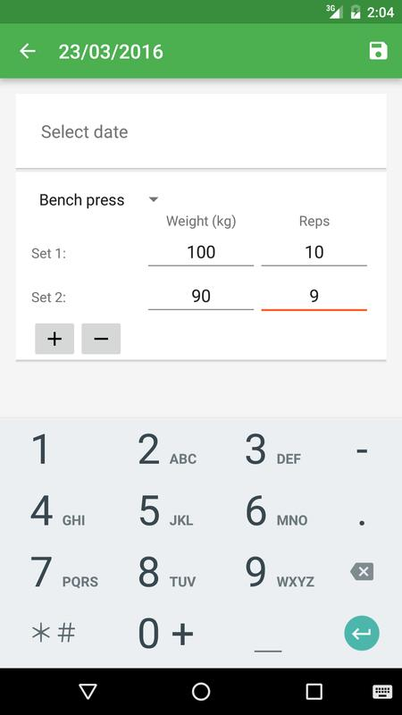 strength tracker unreleased for android apk download