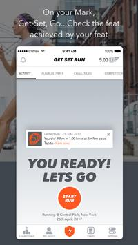 Get Set Go - Cycling, Running, Events, Challenges poster