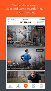 Get Set Go - Cycling, Running, Events, Challenges apk screenshot