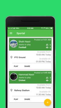 Sportal - Find players poster