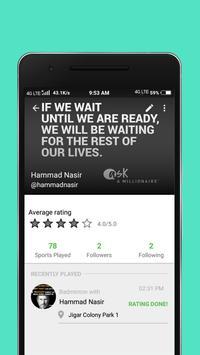 Sportal - Find players apk screenshot