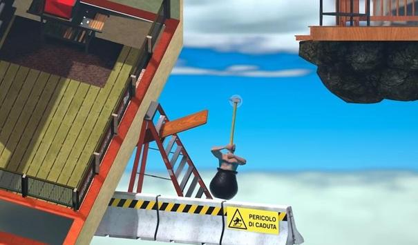 Play Getting Over It With Bennett Foddy trick poster