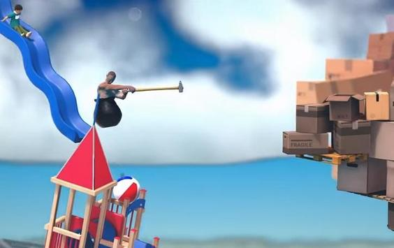 Play Getting Over It With Bennett Foddy trick screenshot 1