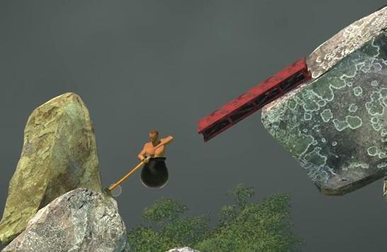 Play Getting Over It With Bennett Foddy trick screenshot 2