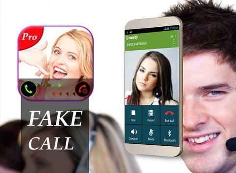 GirlFriend false call PRO apk screenshot