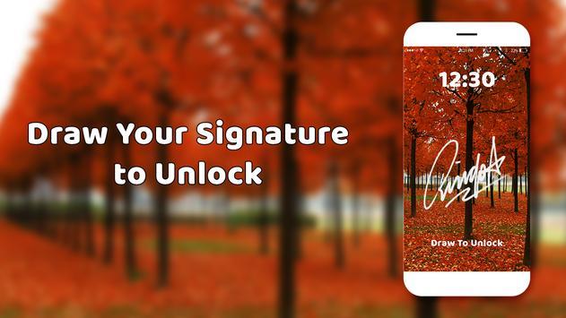 Gesture lock screen and app lock screenshot 1