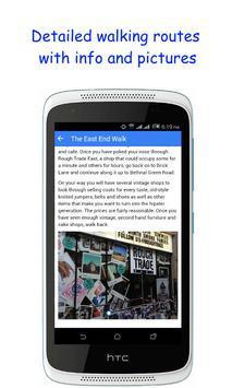 Walkster - London Walks apk screenshot