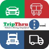 TripThruBid -Hire Vehicles Now icon