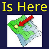 Is Here - GPS Location Capture icon