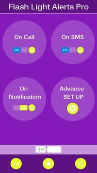 Flash Alert on SMS and Call screenshot 4