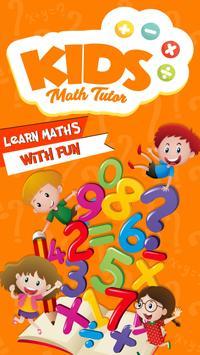 Kids Math Tutor poster