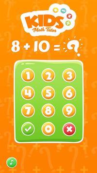 Kids Math Tutor apk screenshot