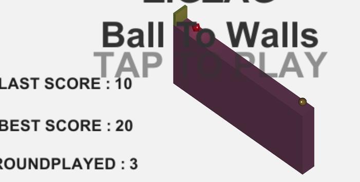 ZigZag Ball To Walls screenshot 1