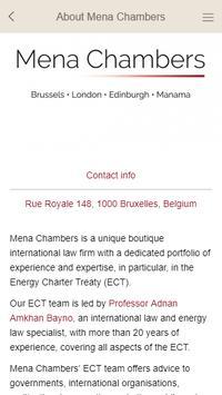 Mena Chambers ECT Gateway screenshot 1