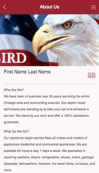 Bird Appliance Repair apk screenshot