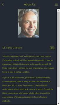 Dr. Ross Graham Chiropractic screenshot 1