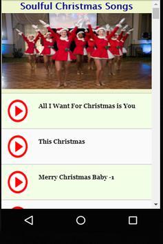 Soulful Christmas Songs screenshot 2