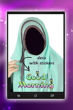 Hijab Montage Photo Editor apk screenshot