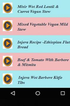 Ethiopian & Oromo Recipes Videos screenshot 1