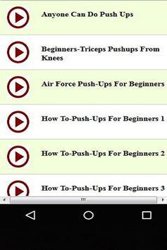 Pushups for Beginners screenshot 1