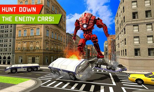 Big Muscular Truck Robot Mechanic Car Workshop apk screenshot