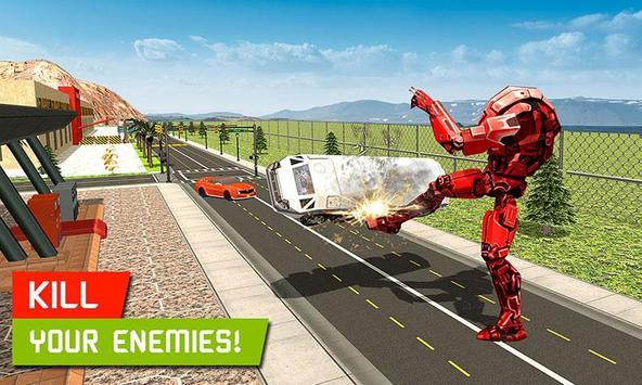 Big Muscular Truck Robot Mechanic Car Workshop apk screenshot